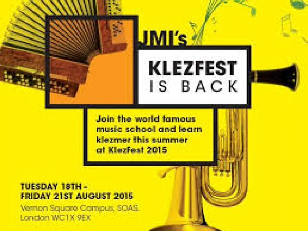 Klezfest at Jewish Music Institute